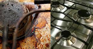 Como limpar trempe e queimador engordurado sem esforço