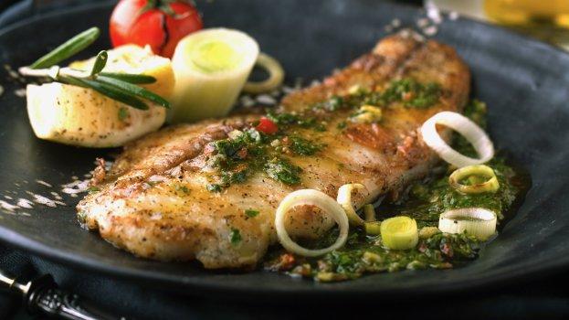 Delicioso peixe ao forno