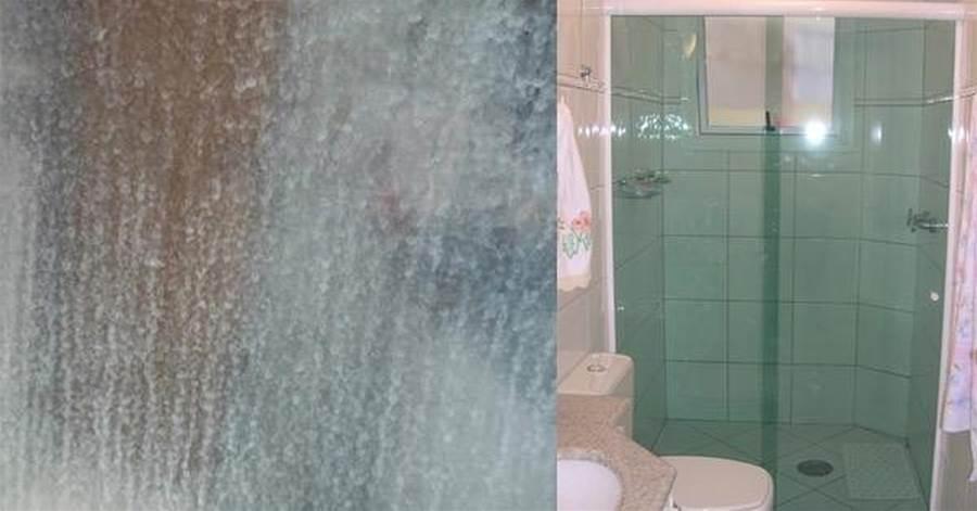 Saiba como remover as terríveis manchinhas brancas do vidro do box do banheiro