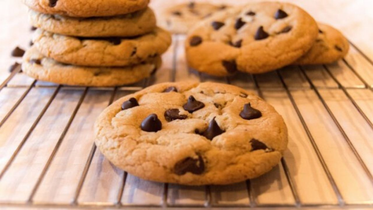 Cookies com apenas dois ingredientes