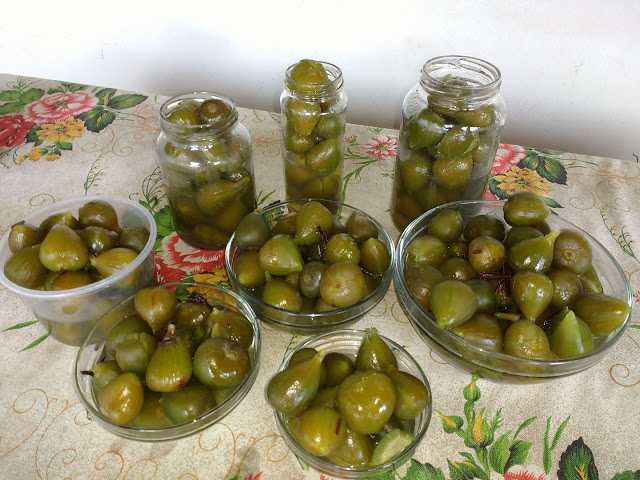 Doce de figos em calda