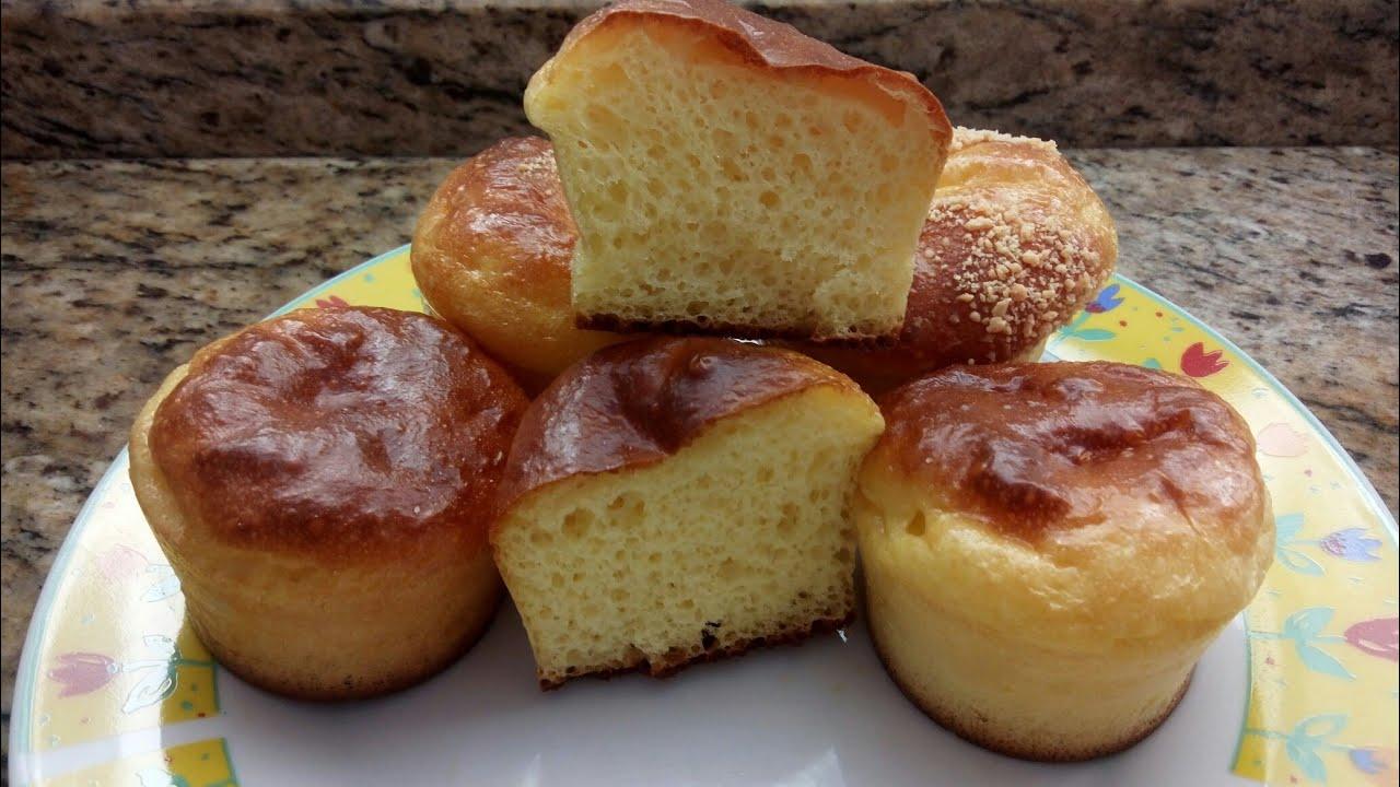Pãozinho sem farinha de trigo