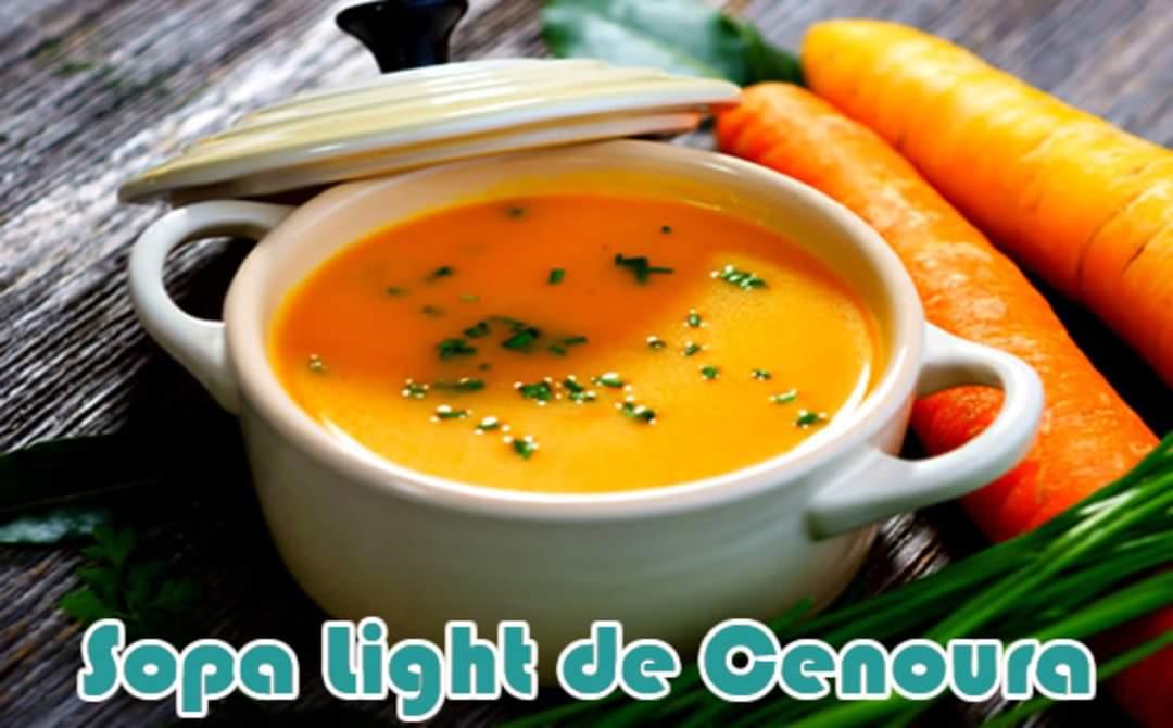 Sopa de cenoura com gengibre e frango