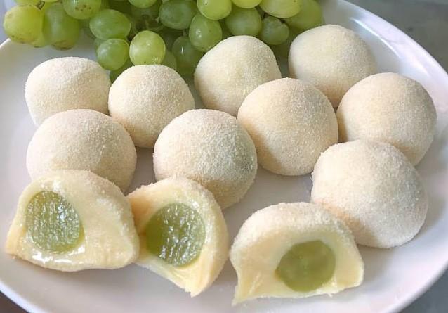 Docinhos de uva verde (thompson)