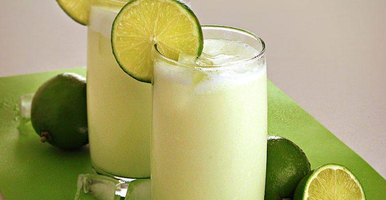 Limonada suíça com leite condensado
