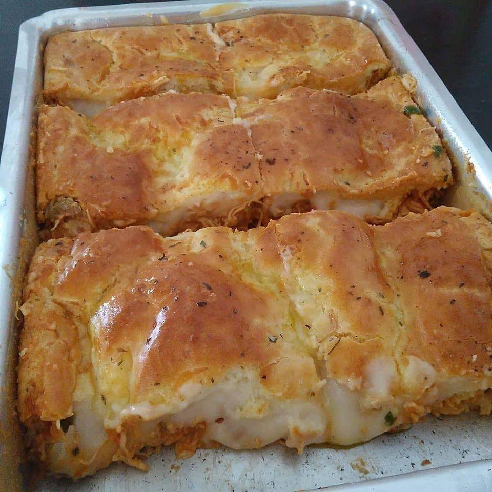 Torta de frango fácil e deliciosa