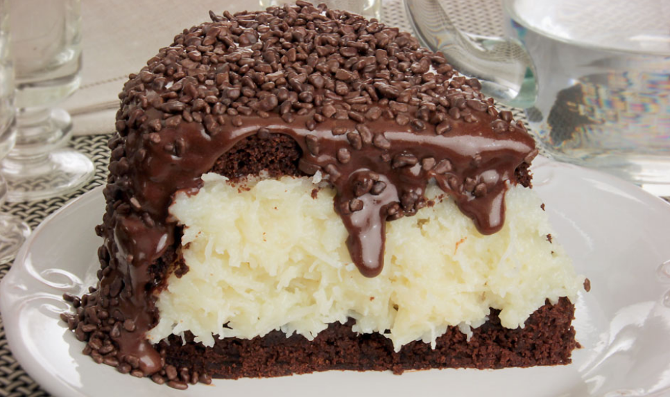 Torta prestígio cremosa