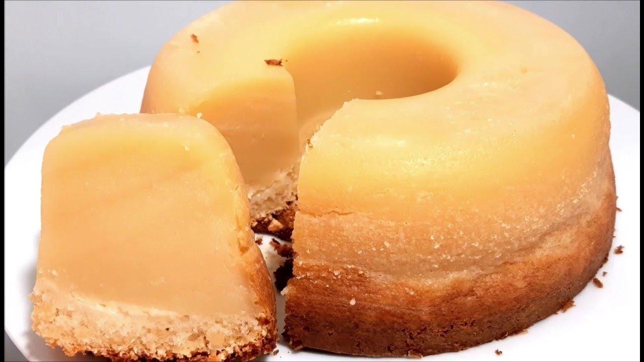 Bolo queijadinha sem farinha de trigo