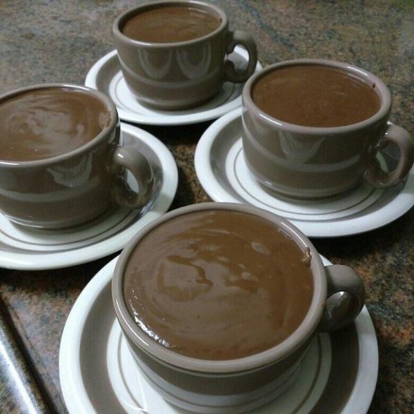 Delicioso chocolate quente