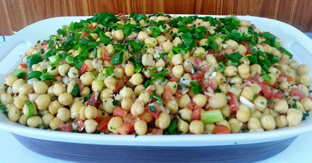 Grão de bico confira aqui saladas saudáveis
