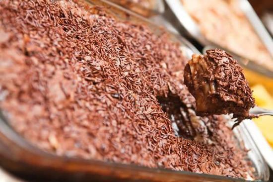 Lasanha de chocolate