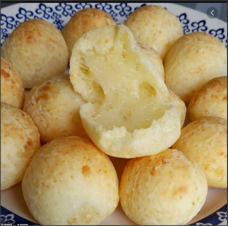 Pão de queijo macio
