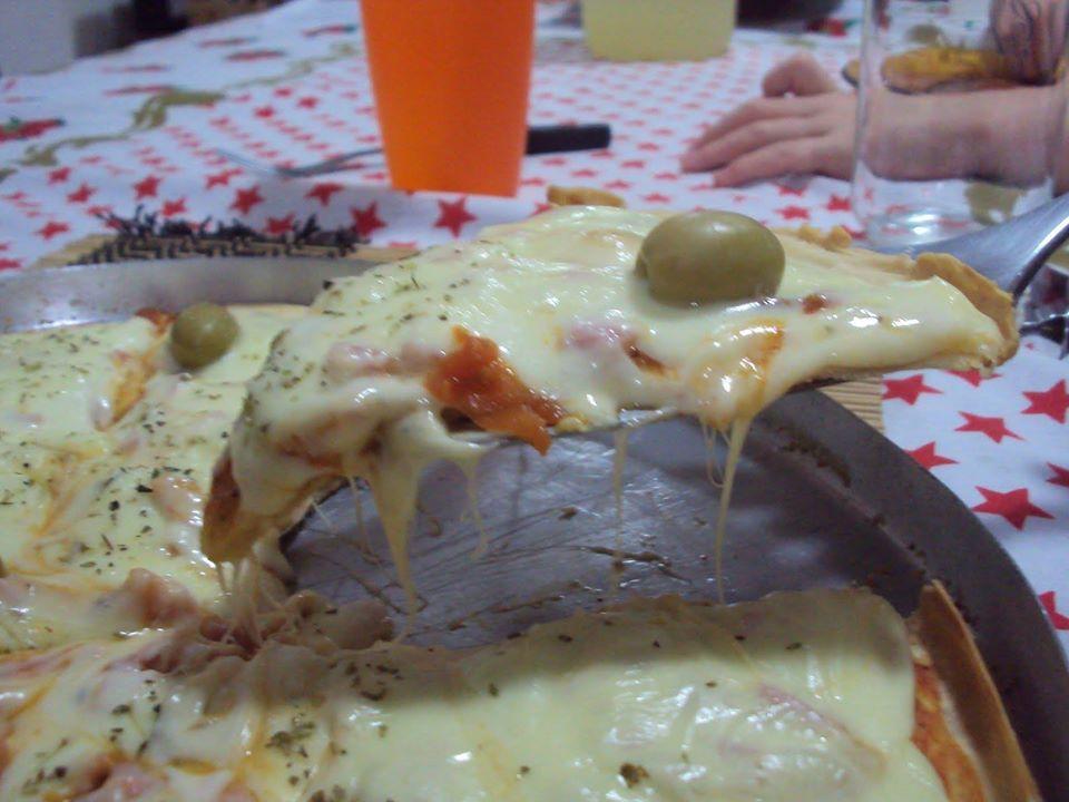 Pizza de liquidificador saborosa