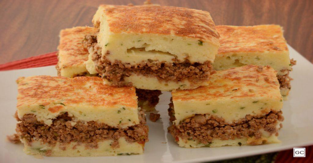 Torta de carne moída