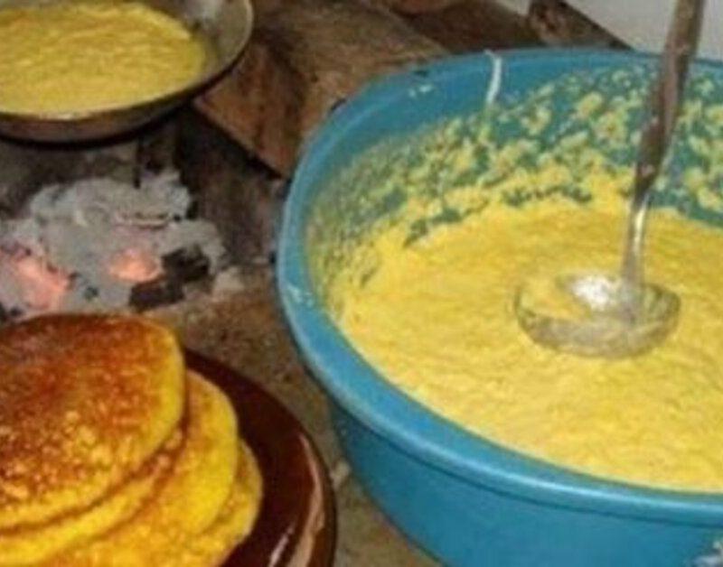 Broa de milho de frigideira