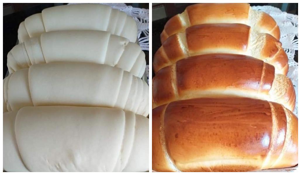 Pão caseiro grandes
