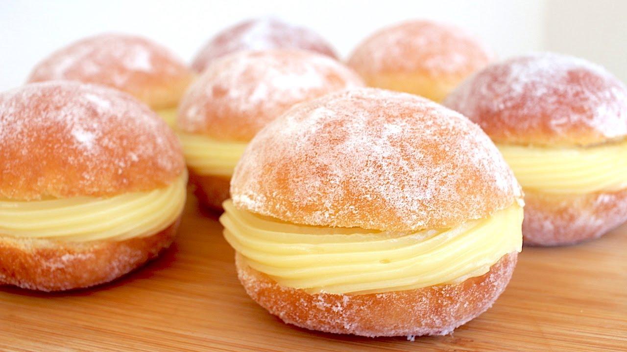 Sonho de padaria tradicional