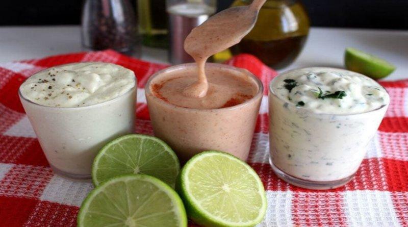 Molhos caseiros para saladas