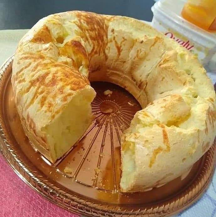 Pão de queijo simples de liquidificador