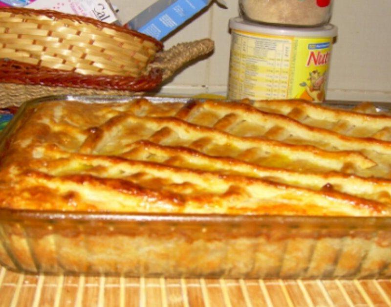 Torta de frango com requeijão – simplesmente deliciosa