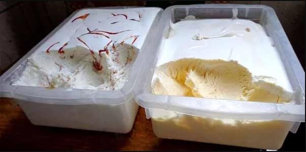 Sorvete de gelatina fácil