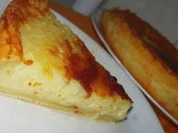 Bolo queijadinha delicioso