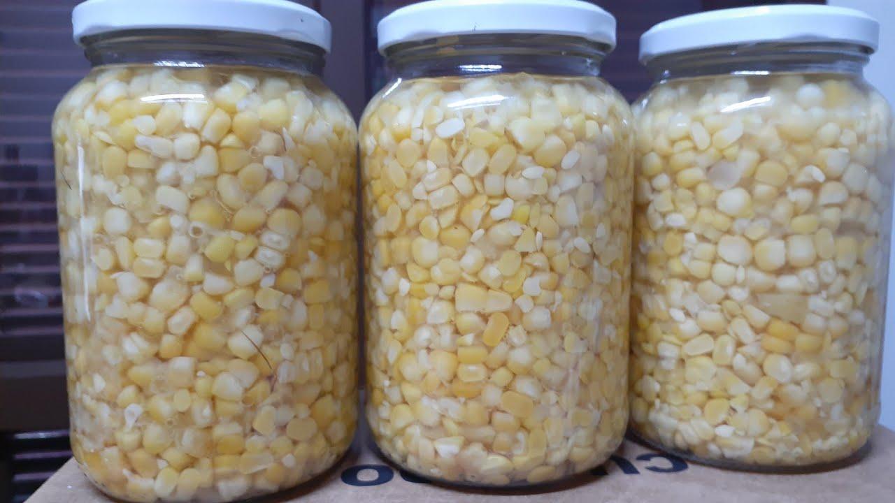 Conserva de milho verde