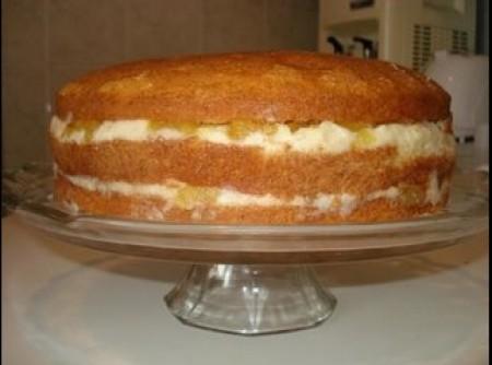 Recheio de abacaxi para bolos
