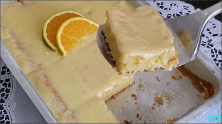 Bolo de laranja molhadinho de liquidificador fÁcil e delicioso | bolo gelado de laranja