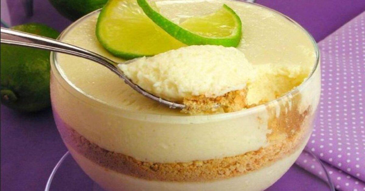 Mousse de limão – fácil e muito deliciosa