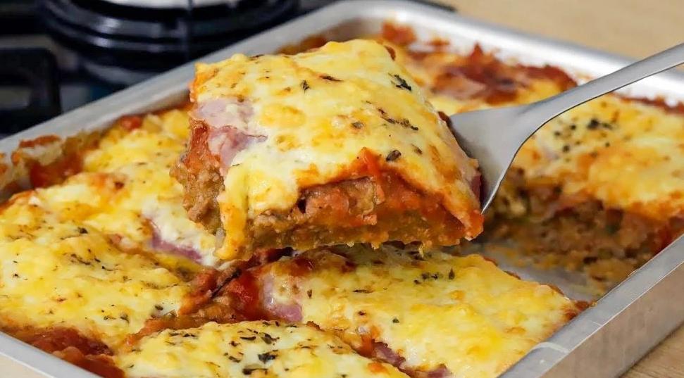 Parmegiana de carne moída: sugestão de receita pra sua refeição!