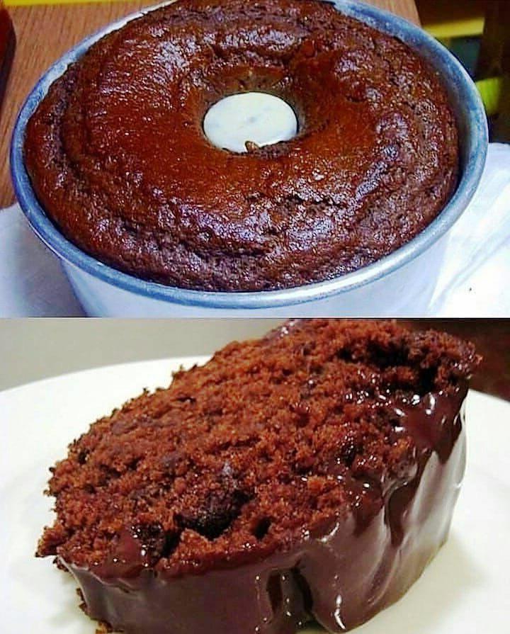 Bolo de chocolate delicioso,o bolo de chocolate é a preferência nacional