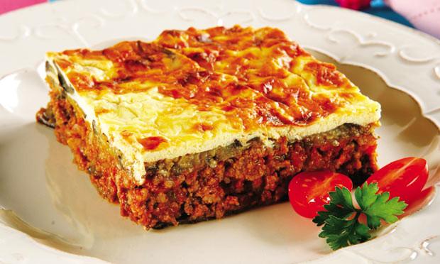 Gratinado de berinjela e carne para aquela super refeiÇÃo especial